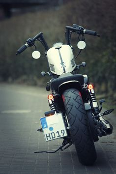 Harley Davidson Sportster 48 XL 1200X forty eight Umbau  - repinned by http://www.motorcyclehouse.com/