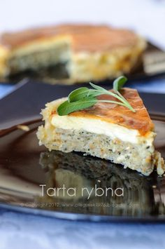 Tarta rybna na francuskim cieście