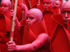Zinneke Parade May 2014 - Brussels Monochromosomes