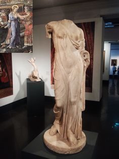 Aphrodite-type statue of Louvre-Naples (first half of the 1st century AD, pentelic marble, height 118 cm, Rome, Capitoline Museums, Centrale Montemartini). Ph. Credit Window Art