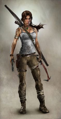 Lara Croft reboot - how does this representation differ from that of the earlier games?