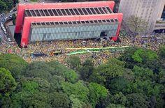 Acompanhe as manifestações contra o governo pelo Brasil - Fotos - R7 Brasil