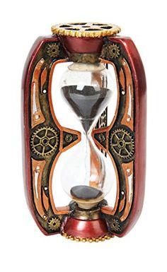6.13 Inch Red Steampunk Inspired Sand Timer Hourglass Sta... https://www.amazon.com/dp/B00UW2CCZC/ref=cm_sw_r_pi_dp_0psGxbE87VYNR