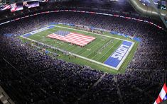 Download wallpapers Ford Field, Detroit Lions, NFL, National Football League, american football, stadium, Detroit, Michigan, USA