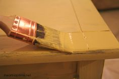 make-it-yourself chalk paint, for refinishing old furniture WITHOUT sanding and stripping!
