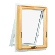 Andersen in. wide x in. tall 400 Series Awning Wood Window - V - The Home Depot special order Square Windows, Double Hung Windows, Sliding Windows, Wood Windows, Big Windows, Windows And Doors, Shaped Windows, Window Seal, Basement Windows