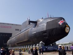 Astute-class nuclear-powered attack submarine