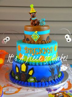 Scooby Doo Birthday Cakes | Scooby Doo Cake I made for my Daughter, Buttercream Icing - by ...