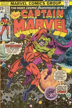 Captain Marvel # 43 by Al Milgrom & Bernie Wrightson