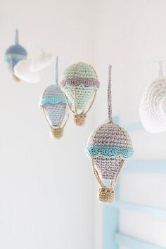 Guirnalda de globos de aire caliente globo de aire por byGu en Etsy