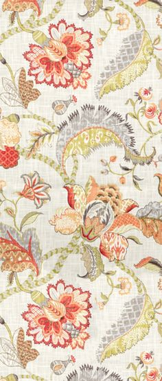 P. Kaufmann Finders Keepers Spice Fabric $19.55 per yard