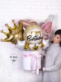Balloon Bouquet, Balloons, Diy, Grand Designs, Fiestas, Manualidades, Globes, Bricolage, Balloon