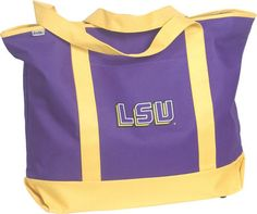 LSU Wildlife Tote  Purchasing available through our Facebook page: https://www.facebook.com/handlewithflair1
