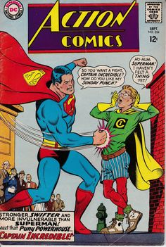 Action Comics 1938 DC 354 September 1967 Issue DC by ViewObscura