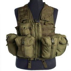 Mil-Tec Fishing Vest Woodland be7d89fe76