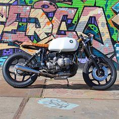 BMW created the bike, Ironwood Custom Motorcycles created the cafe racer!