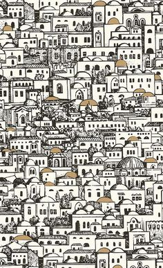 Buy Cole and Son Mediterranea at Wallpaper Trail for only with FREE UK postage. All wallpapers from the Cole and Son Fornasetti Collection collection available. Fornasetti Wallpaper, Piero Fornasetti, Cole And Son Wallpaper, Of Wallpaper, Pattern Wallpaper, Luxury Wallpaper, Geometric Wallpaper, Custom Wallpaper, Groomsmen