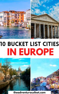 Looking for the most beautiful cities in Europe? This Europe bucket list will inspire you. | Best places to visit in Europe | Best cities to visit in Europe| The ultimate European bucket list| prettiest cities in Europe| Top European cities to visit| Europe bucket list places to visit| Europe bucket list ideas| Amazing cites to visit in Europe| best places to visit in Europe| Best cities to visit in Europe| European destinations to visit| #Europebucketlist #Beautifulcitiesineurope