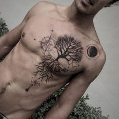 Tree tattoo by Jean Alvarez