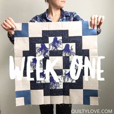 Quilty Love | City Tiles Quilt Along – Week One | http://www.quiltylove.com