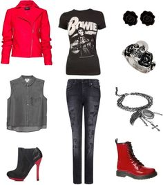 Kpop inspired outfits for girls SHINee's Onew in Why So Serious? MV