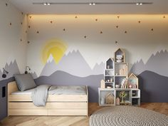 Project WAY-OUT.m Baby room design is alway.- Project WAY-OUT.m Baby room design is always temporary D …- - Kids Bedroom Paint, Kids Bedroom Designs, Baby Room Design, Kids Bedroom Furniture, Baby Bedroom, Baby Boy Rooms, Baby Boy Bedroom Ideas, Bedroom Boys, Childrens Room Decor