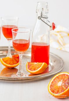 Blood Orangecello li