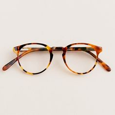 A.R. Trapp round glasses, J.Crew, via @Kat Ellis @ Wit + Delight