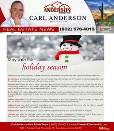 Happy Holidays from The Carl Anderson Team!