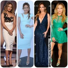 #JenniferLopez FASHION ROUNDUP #2014#jlo #music #diva #twins #beauty #lacedress #gown #fashion #style #celebrity #celebritylook  #fashionicon #beautiful #pretty  #stylish #lookbook #look #ootd #outfit #heels #shoes #nofilter #girl #makeup... - Celebrity Fashion