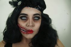Flapper Makeup on Pinterest