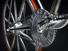 CNC machined chain guard of the Spyker Aeroblade