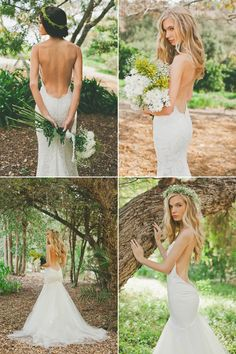 Katie May has those stunning low backs for a much more affordable price tag. Just breath taking!