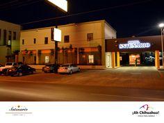 Nuestro HOTEL SNTENARIO CHIHUAHUA, se encuentra cercano a la Universidad Autónoma de Chihuahua. Estamos ubicados en Avenida Homero # 340 Col. Revolución, en la Ciudad de Chihuahua. Contamos con confortables habitaciones con todos los servicios incluido el Desayuno. Tenemos alberca, restaurante y dos salones para eventos con capacidad de 60 y 120 personas. Informes y reservaciones al teléfono (614) 481 0099 o en la página www.hotelsntenario.com #visitachihuahua