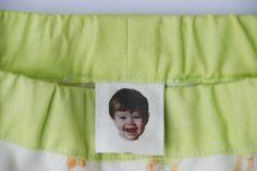 genius tag! :: etiqueta para la ropa con la cara de su dueño :-)