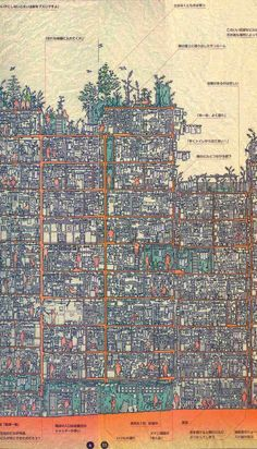 Kowloon Walled City Map