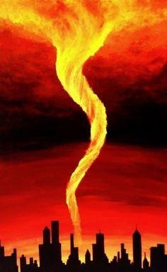 imagenes de tornados de fuego en australia