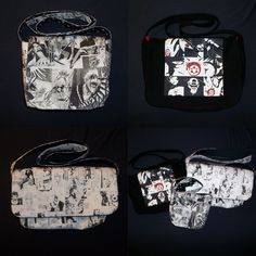 Manga/Anime Messenger or tote bag. My daughter wants one of these.