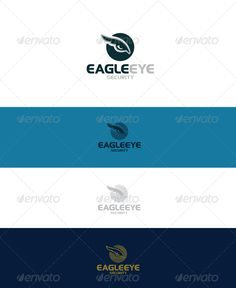 Eagle Eye Logo — Vector EPS #eagle #security • Available here → https://graphicriver.net/item/eagle-eye-logo/4021851?ref=pxcr