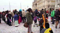 Carnevale In Piazza Unità a Trieste 2-3-2014