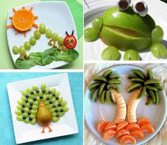 45 cool party food ideas and DIY food decorations- 45 coole Party-Essen-Ideen und DIY-Essen-Dekorationen cool party food ideas for kids birthday parties - Diy Birthday Accessories, Deco Fruit, Comida Diy, Food Art For Kids, Fruit Decorations, Snacks Für Party, Parties Food, Homemade Baby Foods, Diy Food