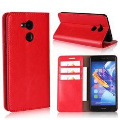 Housse Huawei Honor 6C Pro Simili cuir premium - Rouge