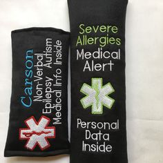Under the needles today.   Check out all my Medical Alert Wraps.   Need one customized?   Just let me know what you need and I will make it to fit your needs.