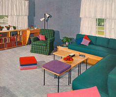 Ladies' Home Journal Book of Interior Decoration by Elizabeth T. Halsey (1954).