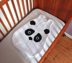 Gigoteuse 0/6 mois panda : Mode Bébé par heliecreative