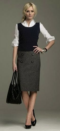 Sophistication in a skirt