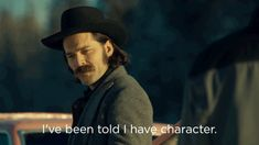 New trending GIF on Giphy. character #wynonna earp #syfy doc holliday wyonna earp tim rozon ive been told i have character. Follow Me CooliPhone6Case on Twitter Facebook Google Instagram LinkedIn Blogger Tumblr Youtube