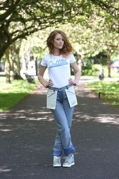 Outties, Jeans Inspired by 'Back to the Future Part II' & Made to Look Inside-Out