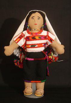 Mixtec Doll Oaxaca Mexico   by Teyacapan