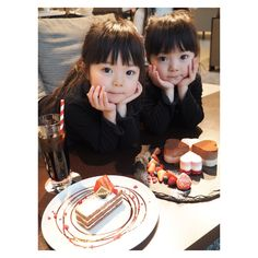 Baby korean mellizos ideas for 2019 Twin Baby Girls, Twin Babies, Cute Baby Girl, Baby Love, Kids Girls, Boy Or Girl, Baby Kids, Cute Asian Babies, Cute Twins